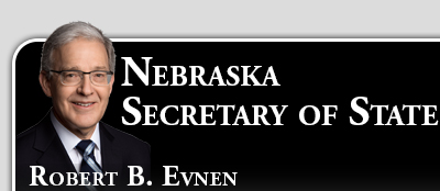 Nebraska Secretary of State - Robert B. Evnen