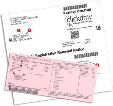 License plate renewal for Polk county motor vehicle registration