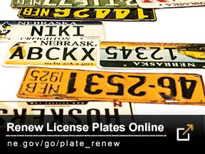 Renew License Plates Online