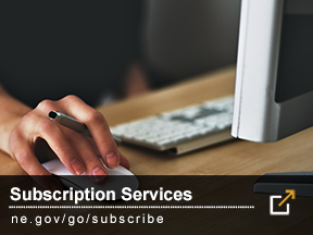Nebraska.gov Subscriber Services