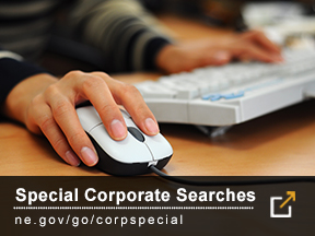 Special Corporate Searches